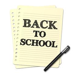 Dessin au stylo : Back to school N