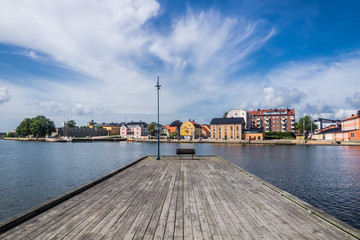 Cityscape of Karlskrona