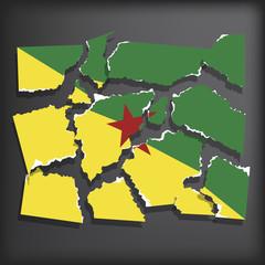 Flag of Guiana for Freedom