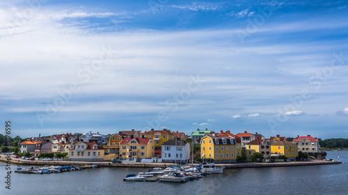 Staande foto Scandinavië Cityscape of Karlskrona