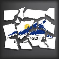 Flag of Reunion