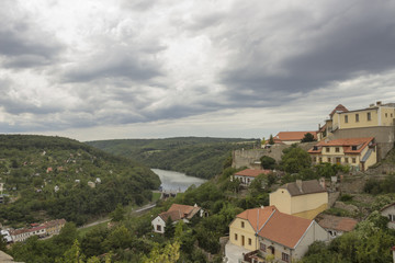 Beautiful view in Znojmo