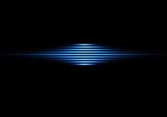 Üç Boyutlu Mavi Çizgiler