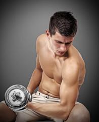 Guy lifting