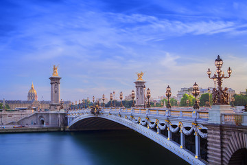 The Grand Palais and Pont Alexandre III