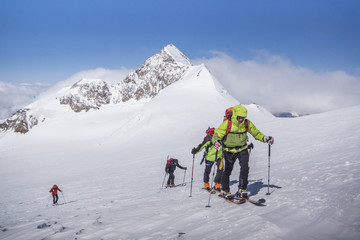 Skitour im Wallis