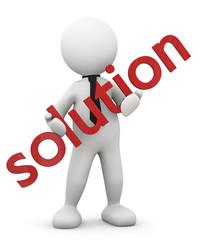 soluzione in mano