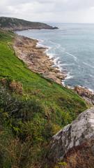 Beautiful Cornwall coastline