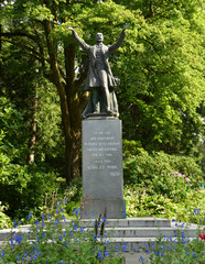Statue of Governor General Stanley in the Park