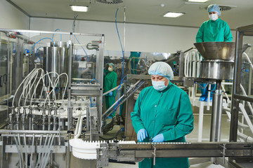 pharmaceutical factory
