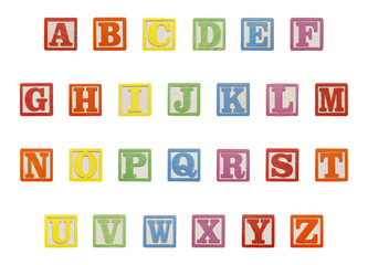 Alphabet Blocks Top