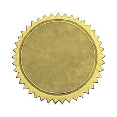 Blank Star Gold Seal