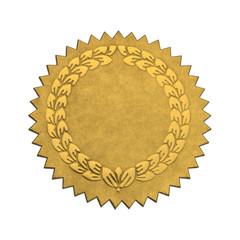 Blank Wreath Seal
