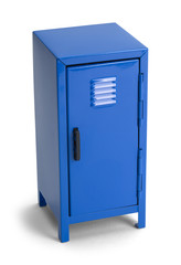 Blue School Locker