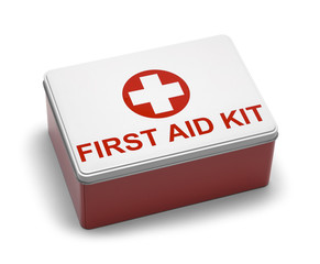 First Aid Kit Metal