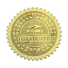 Gold Graduate Seal
