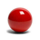 Red Billard Ball