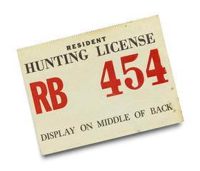 Resident Hunting License