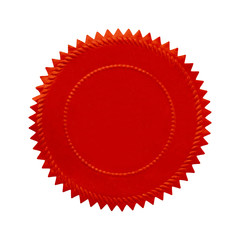 Round Red Seal