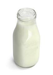 Small Bottle of Milk
