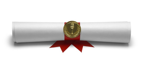 Torch Diploma Front View