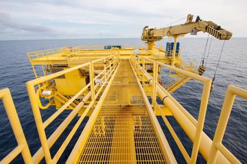 Oil and gas process platform