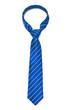 Leinwanddruck Bild - Blue Tie
