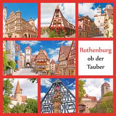 Die bekanntesten Sehenswürdigkeiten von Rothenburg o. d. Tauber