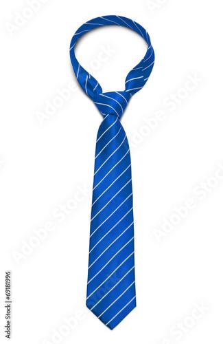 Leinwanddruck Bild Blue Tie