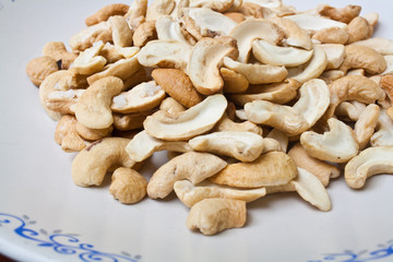 Dry Roasted Salted Cashews Nut