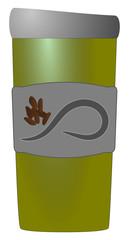 Coffee Tumbler Green