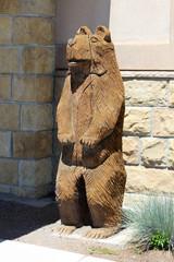 Ours en bois - Wooden bear