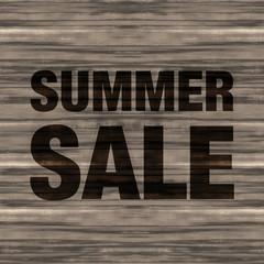 Summer Sale Wood Background