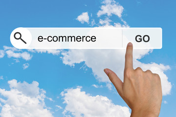 e-commerce on search toolbar