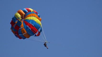 Parachute entertainment. 4K