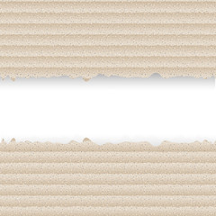 Cardboard background.Vector illustration.