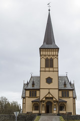 Kirche in Kabelvag