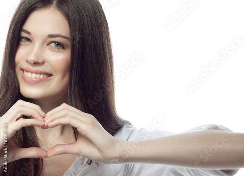 Leinwandbild Motiv woman beauty