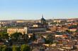 Toledo Spain at sunset