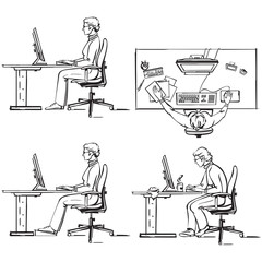 Ergonomic of computer workplace1