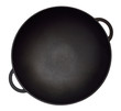 Empty iron wok. - 69185904