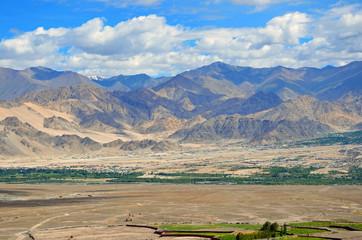 Ladakh Range in Jammu and Kashmir state,India