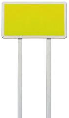panneau rectangulaire pour affichage