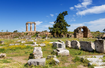 Ancient Corinth, Peloponnese, Greece