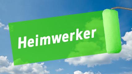 ms13 MalerSchild - Text - Heimwerker - 16 zu 9 - g1342