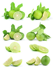 lime fruit set