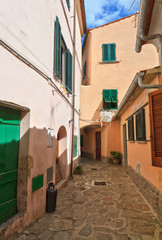 small street in Marciana