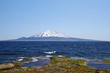 DOMINANT Mt.Rishiri, Rishiri island そびえる利尻山