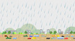 大雨の街 - 69188981