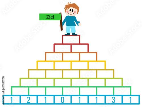 u0026quot;Zahlenpyramideu0026quot; Stockfotos und lizenzfreie Bilder auf Fotolia.com - Bild 69189700